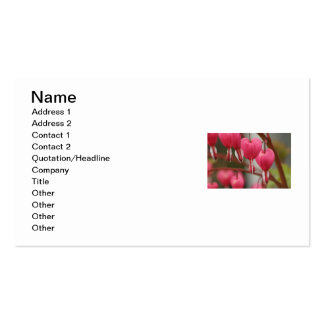Bleeding Hearts Picture Business Card