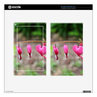 Bleeding Hearts Skins For Kindle Fire