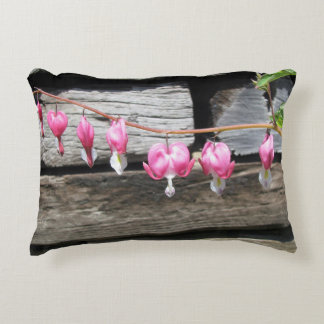 Bleeding Hearts Somerville Accent Pillow