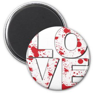 BLEEDING LOVE FRIDGE MAGNET