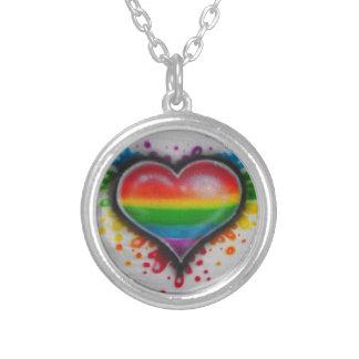 Bleeding Love Rainbow Neclace Necklaces