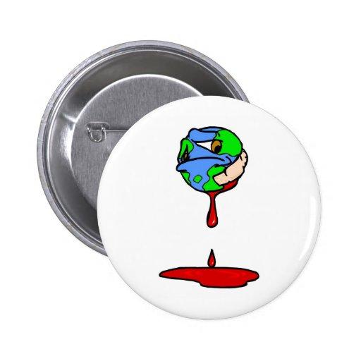 bleeding planet pin