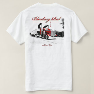 Bleeding Red (blank front) T-Shirt