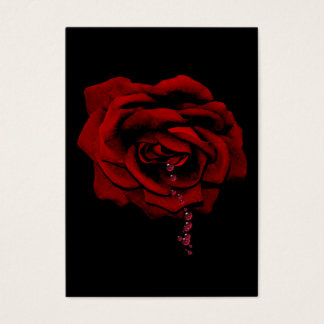 Bleeding Rose Business Card
