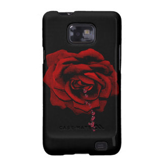 Bleeding Rose Galaxy SII Cases