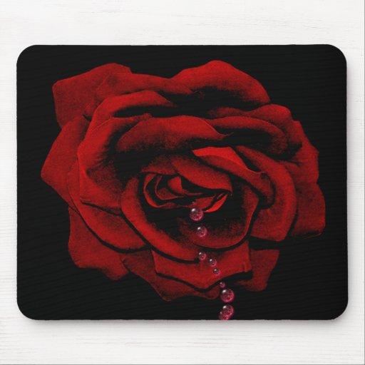 Bleeding Rose Mouse Pads
