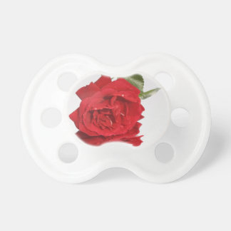 Bleeding Rose Baby Pacifiers