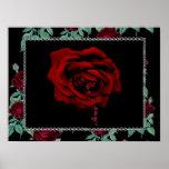 Bleeding Rose Print