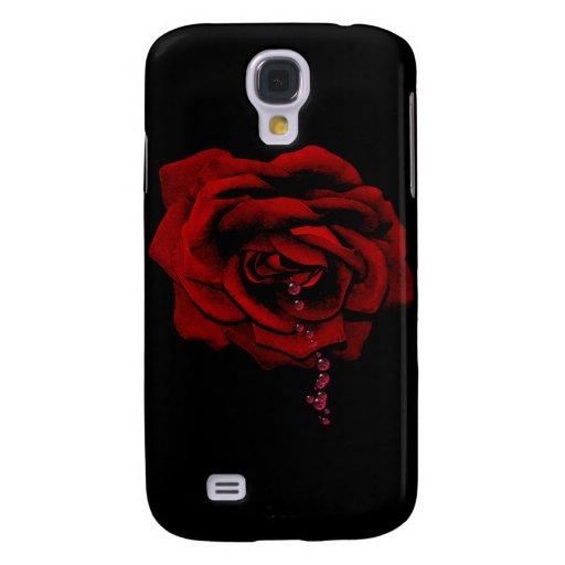 Bleeding Rose Samsung Galaxy S4 Case