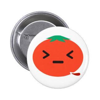 Bleeding Tomato 2 Inch Round Button