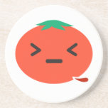 Bleeding Tomato Beverage Coaster