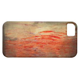 Bleeding Water Abstract iPhone Case