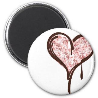 bleedingheart 2 inch round magnet