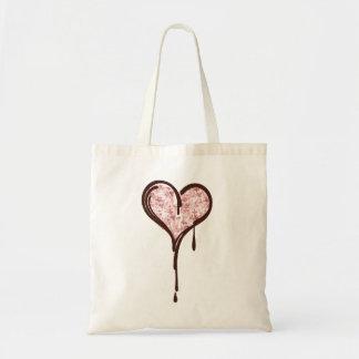 bleedingheart tote bag