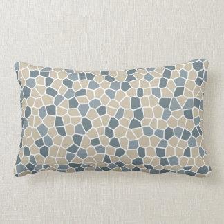 Bleeker Beige, Van Courtland Blue, Charlotte Slate Lumbar Pillow