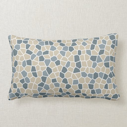 Bleeker Beige, Van Courtland Blue, Charlotte Slate Throw Pillows Zazzle