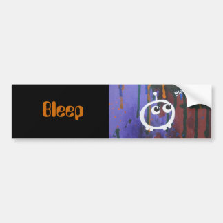 , Bleep bumper sticker Car Bumper Sticker