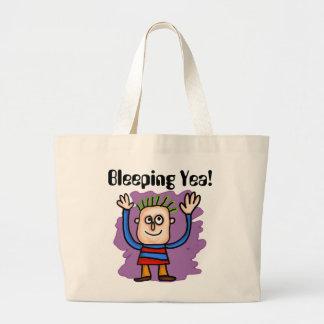 Bleeping Yea! Tote Bag
