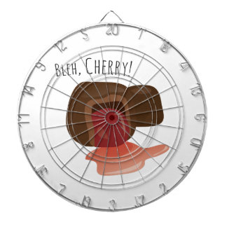 Bleh, Cherry! Dartboard With Darts