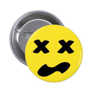 Bleh Face Pinback Button
