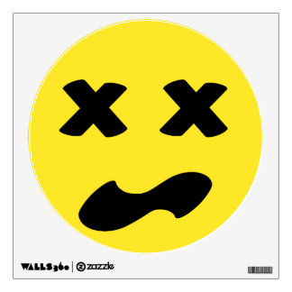 Bleh Face Wall Decal
