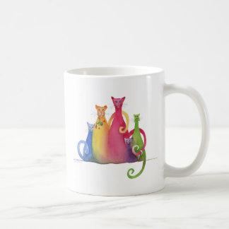 Blended Family of 5, Watercolor Art Mug