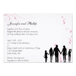 Blended Family Wedding Invitation