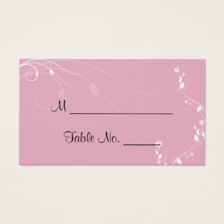 Blended Family Wedding Place Cards