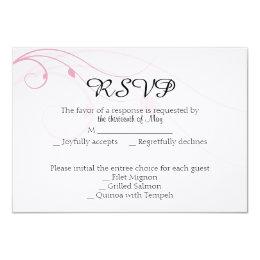 Blended Family Wedding Response Card
