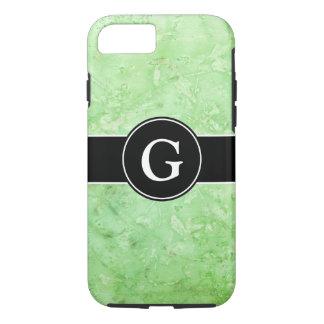 Blended Mint Green Monogrammed iPhone 8/7 Case
