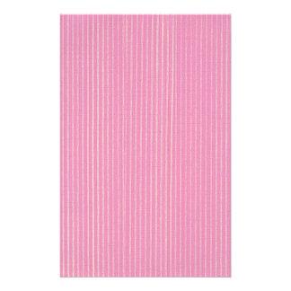 Blended Pink Stripes Background Stationery