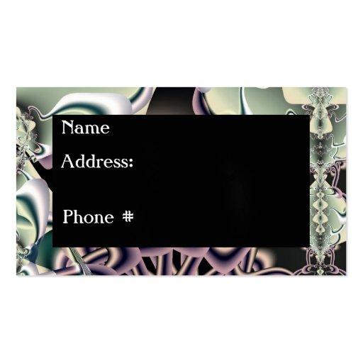 Blender Fractal Business Card