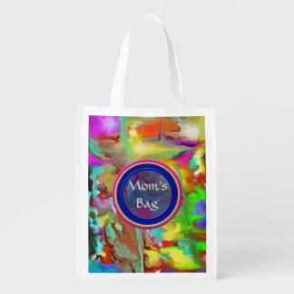 Blending Colors - Personalized All Purpose Bag Grocery Bag