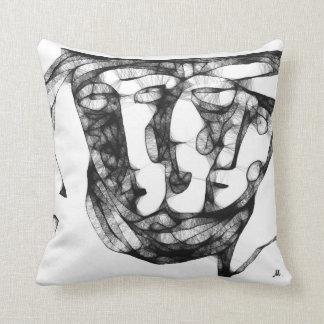 blending features throw pillow