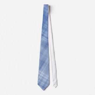 Blends Of Blue Plaid Tie