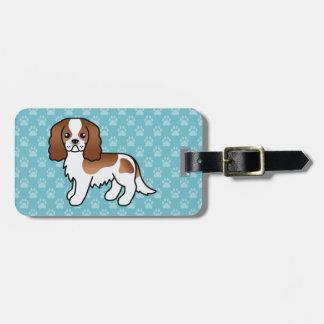 Blenheim Cavalier King Charles Spaniel Dog Luggage Tag