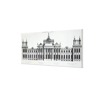Blenheim Palace Gallery Wrap Canvas