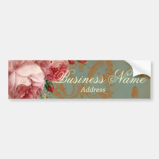 Blenheim Rose Car Bumper Sticker