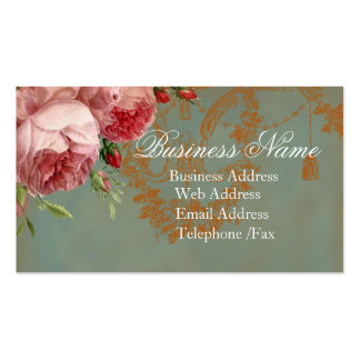 Blenheim Rose Double-Sided Standard Business Cards (Pack Of 100)