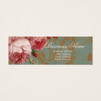 Blenheim Rose Gold Mini Business Card