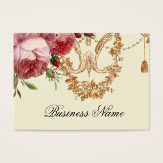 Blenheim Rose, Ivory, Business Card
