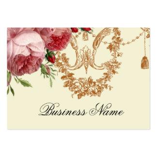 Blenheim Rose, Ivory, Large Business Card