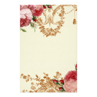 Blenheim Rose - Ivory  - Personal Stationery