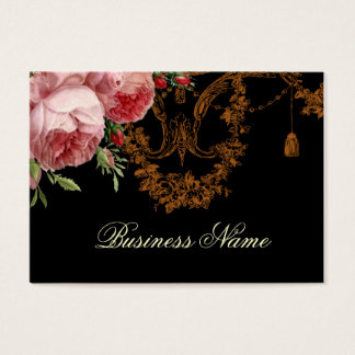 Blenheim Rose, noir Business Card