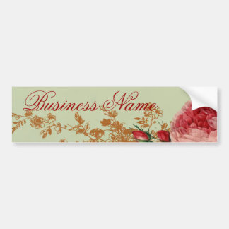 Blenheim Rose - Sage Green Bumper Stickers