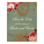Blenheim Rose Save the Date Post Cards