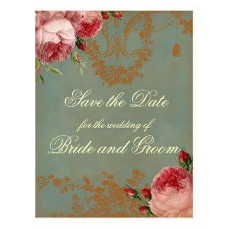 Blenheim Rose Save the Date Postcard