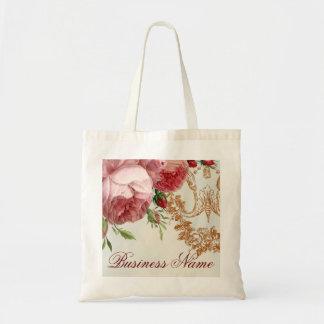 Blenheim Rose - Summer Sky - Budget Tote Bag