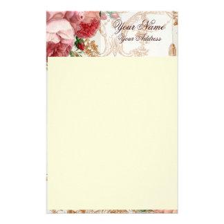 Blenheim Rose - Summer Sky - Personalised Custom Stationery