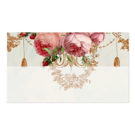 Blenheim Rose -Summer Sky - Place card Business Card Templates